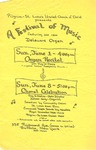 Advertisements; 1986-06-08 by The Royal Serenaders Male Chorus