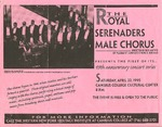 Advertisements; 1995-04-22 by The Royal Serenaders Male Chorus