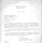 Correspondence; 1963-06-14 by The Royal Serenaders Male Chorus