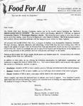 Correspondence; 1995-02-01 by The Royal Serenaders Male Chorus