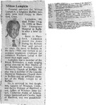 RS-obit; 1990-08-10; Lumpkin, Milton by The Royal Serenaders Male Chorus