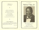 RS-obit; 1996-01-22; Coley, Melvin by The Royal Serenaders Male Chorus