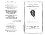 RS-obit; 1996-06-03; Patterson, James by The Royal Serenaders Male Chorus