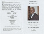 RS-obit; 2007-10-26; Lewis, Wardell by The Royal Serenaders Male Chorus