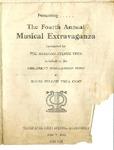 Program; 1951-06-05 by The Royal Serenaders Male Chorus