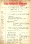 Program; 1953-11-24 by The Royal Serenaders Male Chorus