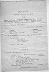 Program; 1953-10-18 by The Royal Serenaders Male Chorus