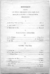 Program; 1953-10-25 by The Royal Serenaders Male Chorus