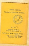 Program; 1958-09-22