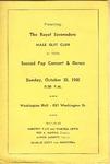 Program; 1960-10-30