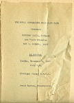 Program; 1960-11-06