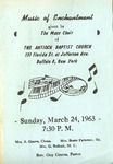 Program; 1963-03-24