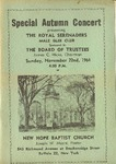 Program; 1964-11-22
