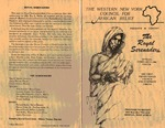 Program; 1986-02-09 by The Royal Serenaders Male Chorus