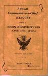 Program; 1986-07-19 by The Royal Serenaders Male Chorus