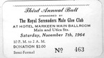 RS-Ticket; 1964-11-07