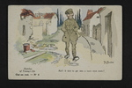 Fathers and Children: Sketch of Tommy's Life (1) by WWI Postcards from the Richard J. Whittington Collection