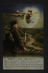 Songs/Hymns: Long, Long Trail (3) by WWI Postcards from the Richard J. Whittington Collection