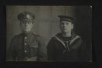 British Soldier and Sailor Portrait (1) by WWI Postcards from the Richard J. Whittington Collection