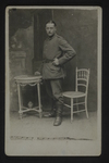 Unknown German Soldier (1) by WWI Postcards from the Richard J. Whittington Collection