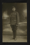 British Soldier Portrait (1) by WWI Postcards from the Richard J. Whittington Collection