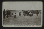 Howitzer Battery (1) by WWI Postcards from the Richard J. Whittington Collection