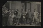 German Soldiers with Civilians (1) by WWI Postcards from the Richard J. Whittington Collection