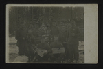 German Christmas Celebration, 1916 by WWI Postcards from the Richard J. Whittington Collection