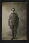 Professional German Soldier Portrait (1) by WWI Postcards from the Richard J. Whittington Collection
