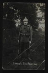 German Soldier Portrait, 1916 (1) by WWI Postcards from the Richard J. Whittington Collection