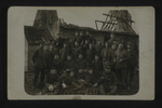 German Soldiers at Flanders, 1918 by WWI Postcards from the Richard J. Whittington Collection