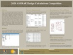 2020 ASHRAE Design Calculations Competition