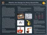 Robotic Arm Design for Heavy Round Disks