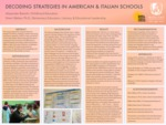 Decoding Strategies in American and Italian Schools by Alexander Bianchi