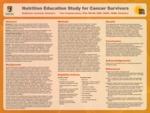 Nutrition Education Study for Cancer Survivors