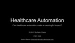 How Automation Can Make Healthcare More Affordable