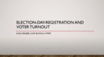 Election-Day Registration and Voter Turnout