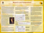 Mozart's Lost Composition? by Caitlyn Faddis