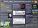 Stravinsky's Rite of Spring: Primitive Village to Concert Hall by Alex Denisco