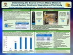 Determining the Source of Toxic Heavy Metals in Closed-System E-Cigarettes by Ashleigh Coggins-Block