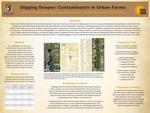Digging Deeper: Contaminants in Urban Farms by Matthew Rayburg