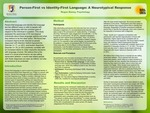 Person-First vs. Identity-First: Does Language Matter? by Regan Baney