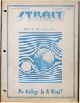 Strait, v.1, no. 1, 1971-09-29 by Andrew Elston