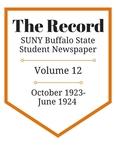 The Record, Volume 12, 1923-1924