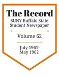 The Record, Volume 62, 1961-1962