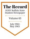 The Record, Volume 63, 1962-1963