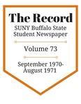 The Record, Volume 73, 1970-1971