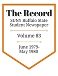 The Record, Volume 83, 1979-1980 by The Record, SUNY Buffalo State Student Newspaper
