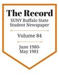 The Record, Volume 84, 1980-1981