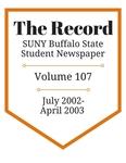 The Record, Volume 107, 2002-2003
